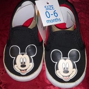 Disney Baby Boy Shoes Mickey Mouse